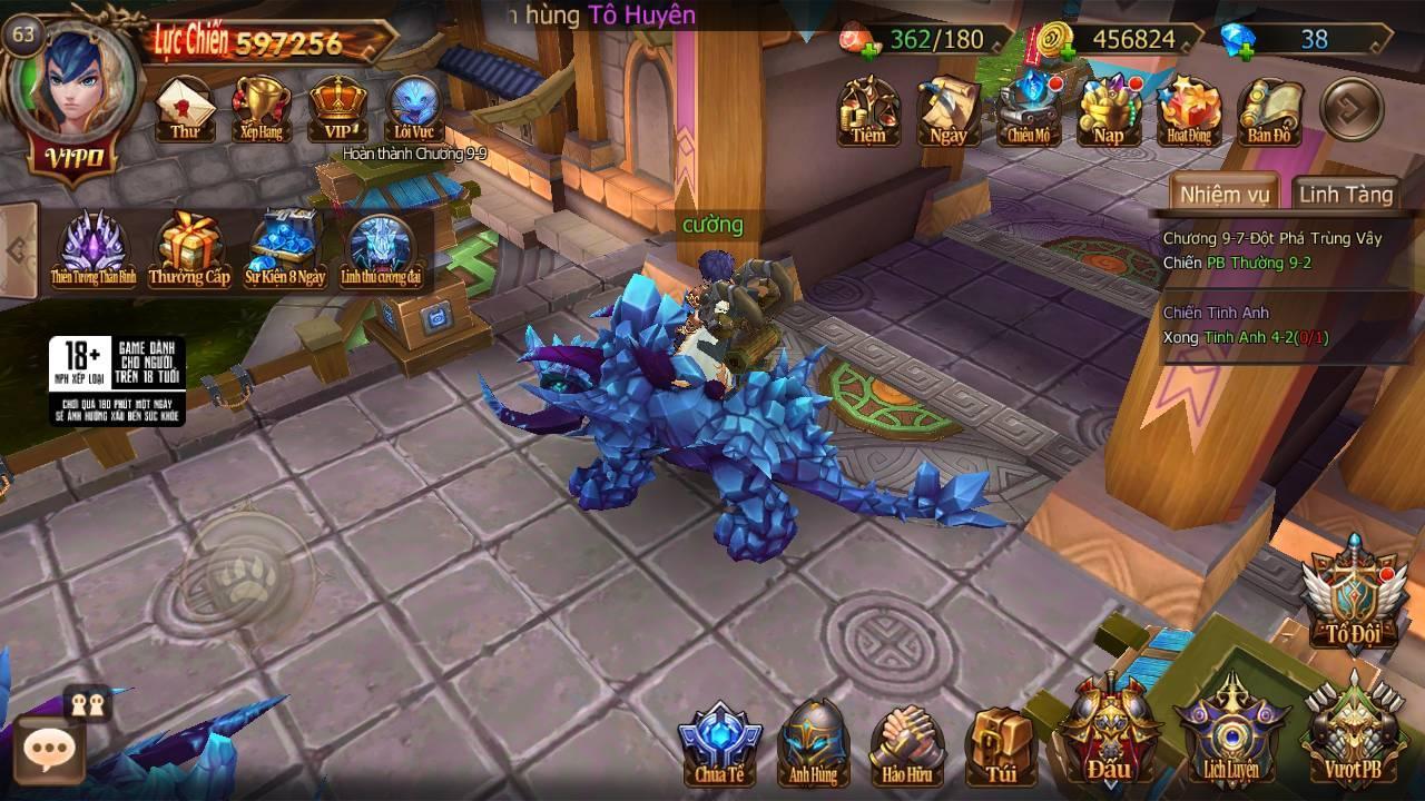 Trải nghiệm Đại Chúa Tể Mobile: Đồ họa mượt mà, kết hợp thú vị giữa game nhập vai hành động và đấu thẻ tướng 18