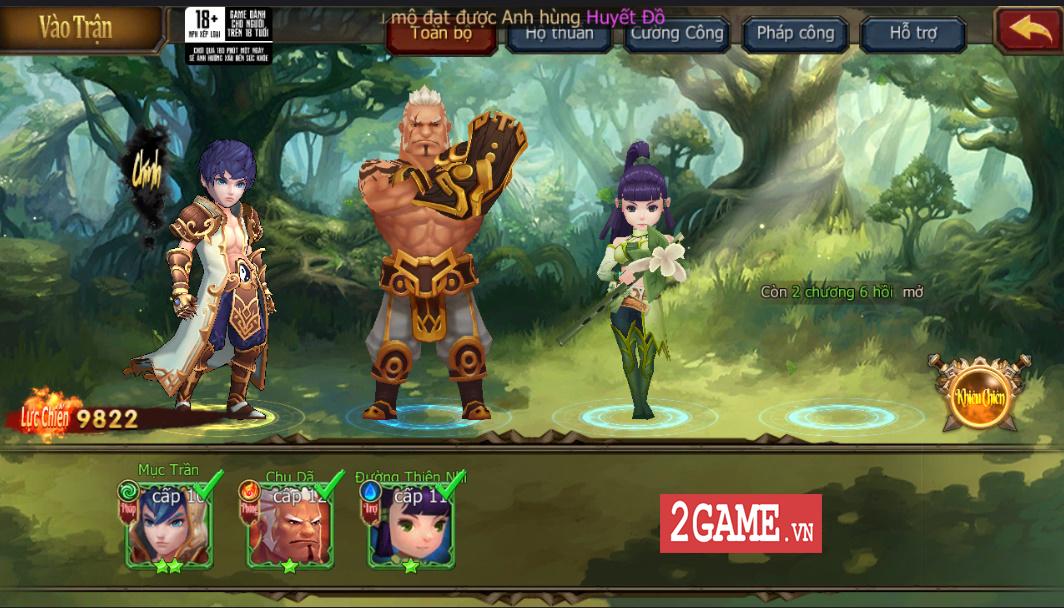 Trải nghiệm Đại Chúa Tể Mobile: Đồ họa mượt mà, kết hợp thú vị giữa game nhập vai hành động và đấu thẻ tướng 14