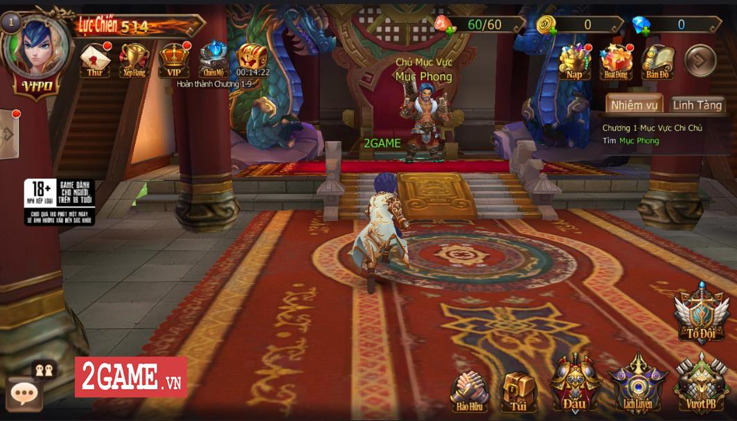 Trải nghiệm Đại Chúa Tể Mobile: Đồ họa mượt mà, kết hợp thú vị giữa game nhập vai hành động và đấu thẻ tướng 0