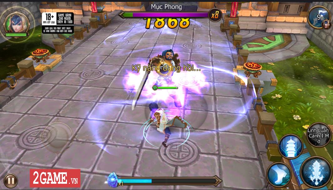 Trải nghiệm Đại Chúa Tể Mobile: Đồ họa mượt mà, kết hợp thú vị giữa game nhập vai hành động và đấu thẻ tướng 1