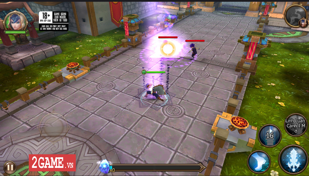 Trải nghiệm Đại Chúa Tể Mobile: Đồ họa mượt mà, kết hợp thú vị giữa game nhập vai hành động và đấu thẻ tướng 9