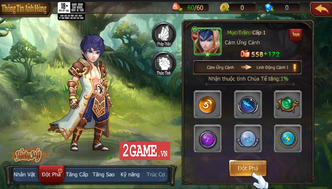 Trải nghiệm Đại Chúa Tể Mobile: Đồ họa mượt mà, kết hợp thú vị giữa game nhập vai hành động và đấu thẻ tướng 3