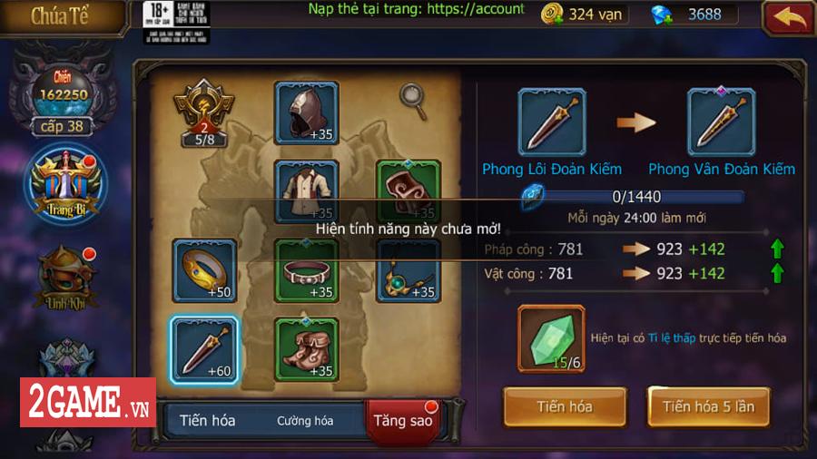 Đại Chúa Tể Mobile đang từng bước chinh phục người chơi nhờ chất gameplay đột phá 7