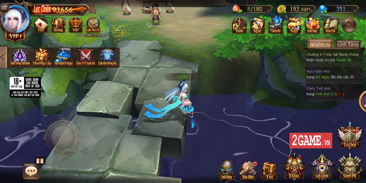 Đại Chúa Tể Mobile đang từng bước chinh phục người chơi nhờ chất gameplay đột phá 1