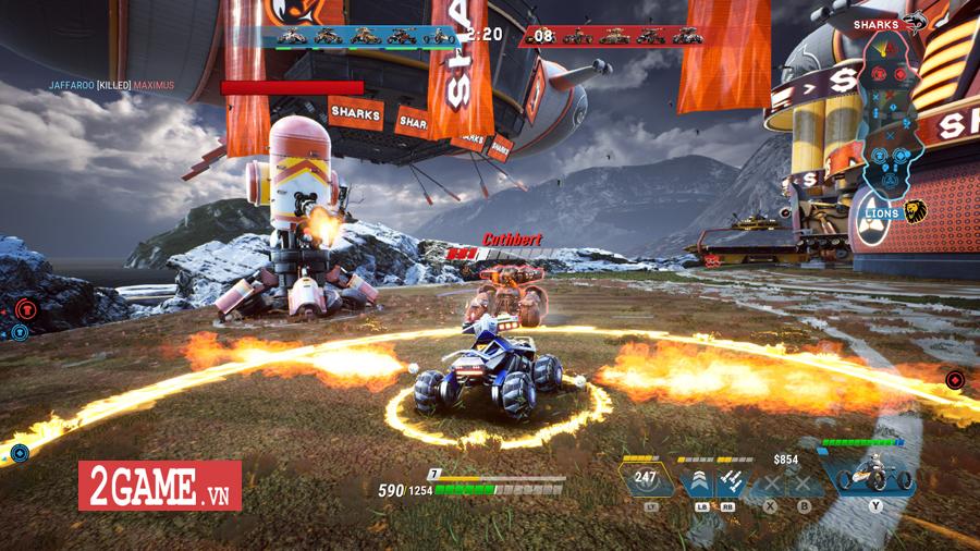 Switchblade - Game đua xe hành động đậm chất MOBA ra mắt miễn phí trên Steam 1
