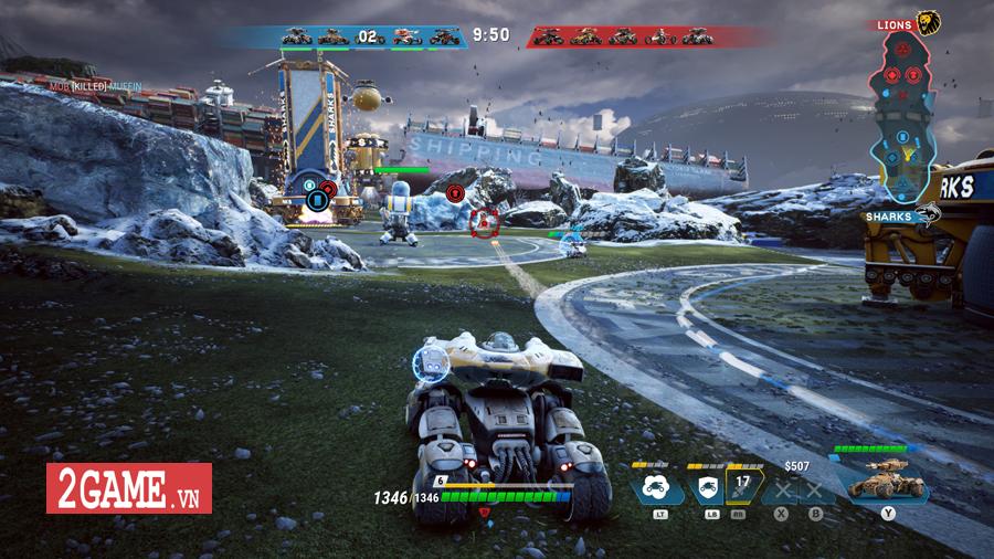 Switchblade - Game đua xe hành động đậm chất MOBA ra mắt miễn phí trên Steam 2