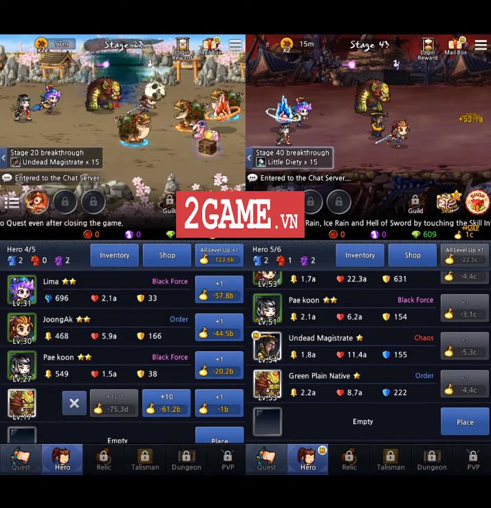 TOP 9 game Idle mang lối chơi đấu tướng rảnh tay dành cho người dùng di động 7
