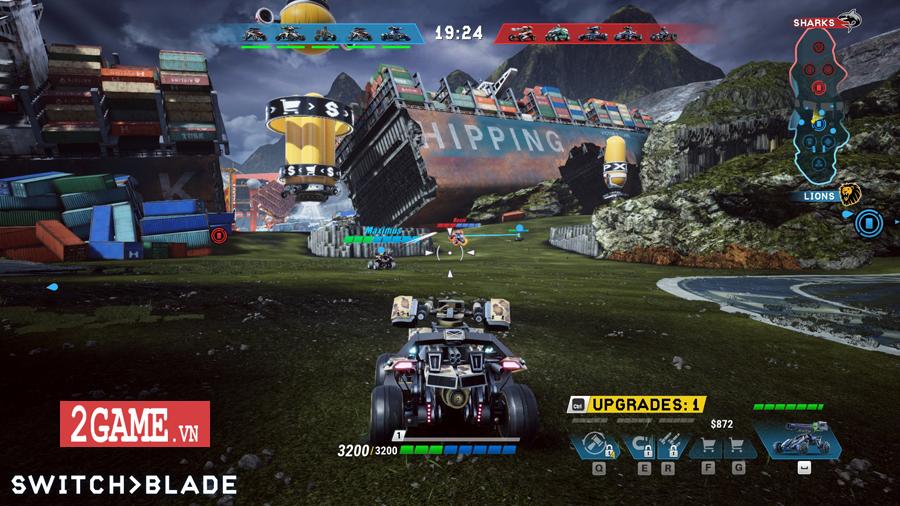 Switchblade - Game đua xe hành động đậm chất MOBA ra mắt miễn phí trên Steam 0