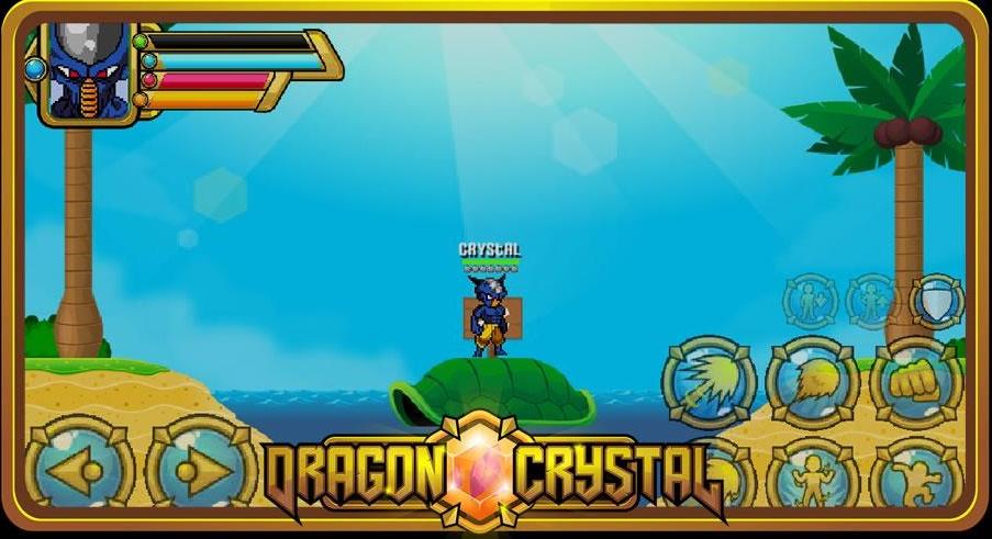 Dragon Crystal - Game nhập vai màn hình ngang lấy đề tài Bảy viên ngọc rồng đơn giản nhưng đầy thú vị 0