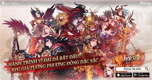 Top game nhập vai thẻ tướng Final Blade Việt Nam chính thức ra mắt
