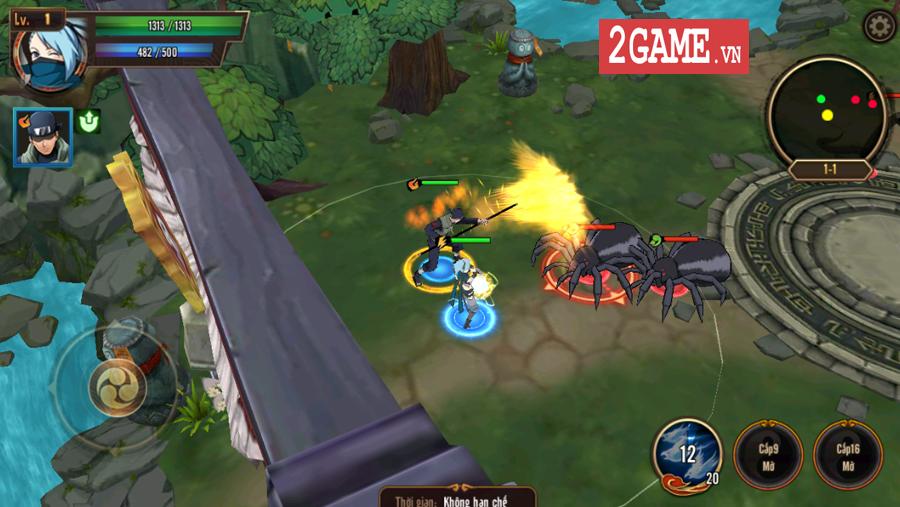 Trải nghiệm Ninja Vô Song Mobile: Bối cảnh Naruto quen thuộc chất chơi nhập vai đổi mới 2