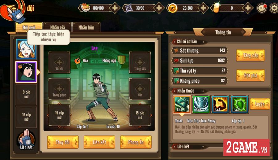 Trải nghiệm Ninja Vô Song Mobile: Bối cảnh Naruto quen thuộc chất chơi nhập vai đổi mới 5