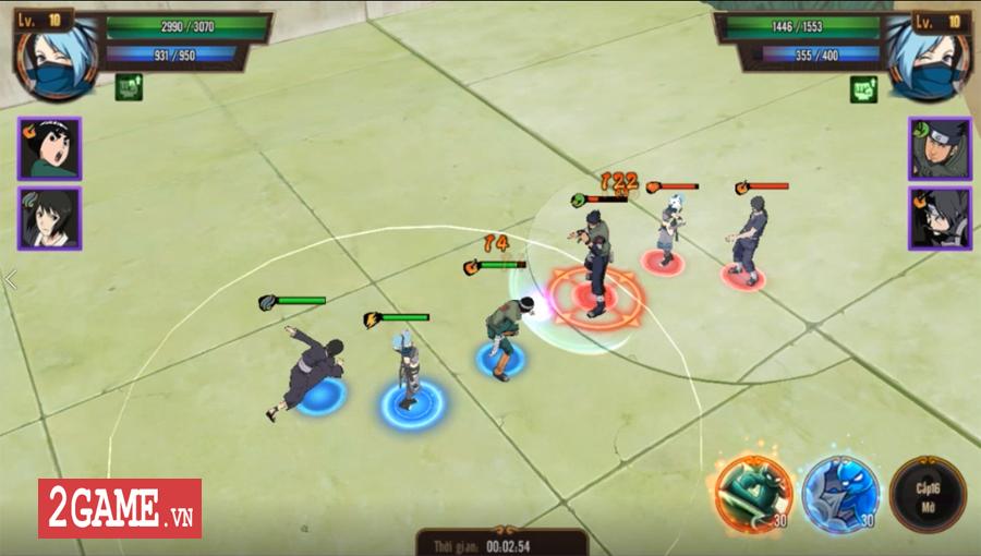Trải nghiệm Ninja Vô Song Mobile: Bối cảnh Naruto quen thuộc chất chơi nhập vai đổi mới 3
