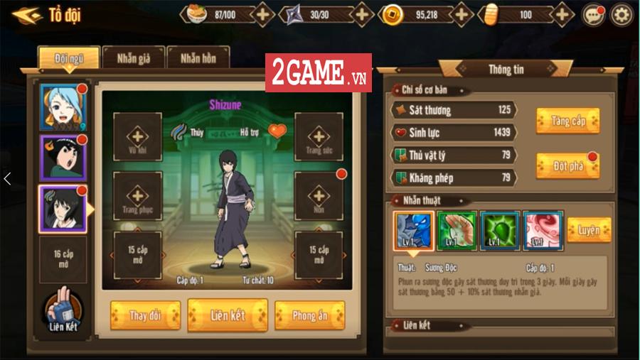 Trải nghiệm Ninja Vô Song Mobile: Bối cảnh Naruto quen thuộc chất chơi nhập vai đổi mới 6