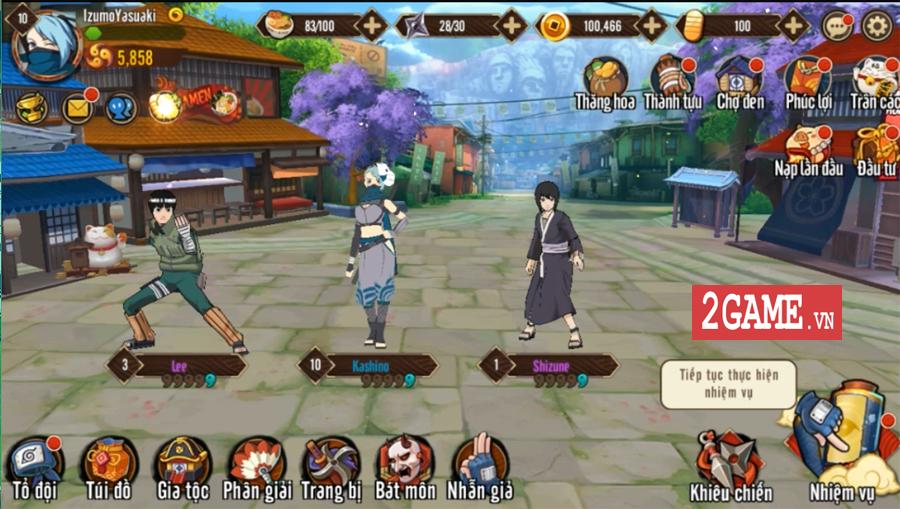 Trải nghiệm Ninja Vô Song Mobile: Bối cảnh Naruto quen thuộc chất chơi nhập vai đổi mới 4