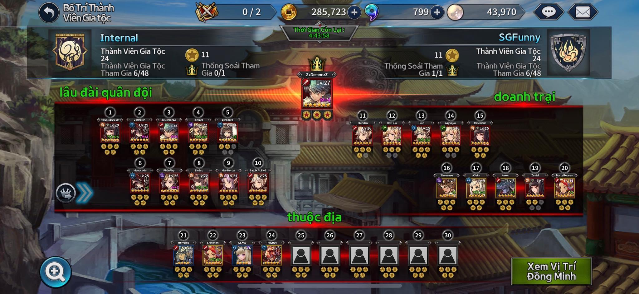 Final Blade Việt Nam không thiếu những đấu trường leo hạng, clan chiến cho bạn tranh đấu 7