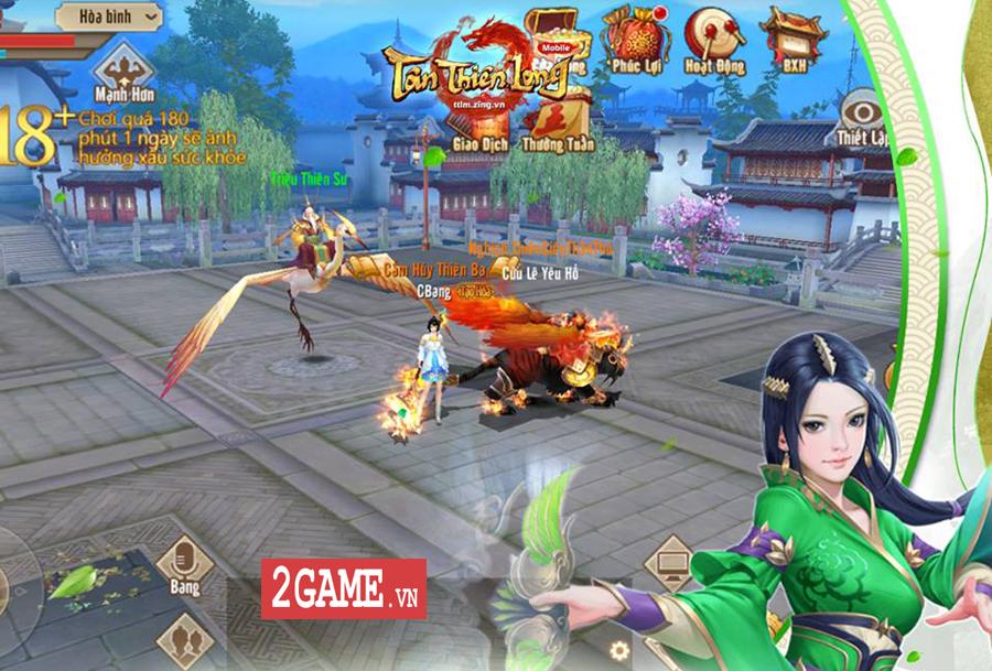 Tân Thiên Long Mobile VNG có những điểm nào giống với bản PC 12 năm về trước? 7
