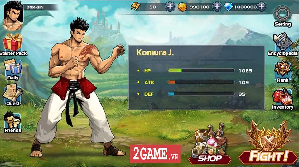 Mortal Battle: Street Fighter - Sự kết hợp hoàn hảo giữa thể loại nhập vai và đối kháng 1