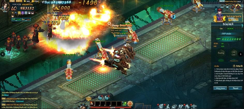 Game thủ tham gia Webgame Thiên Địa Hội được tha hồ hóa thân thành Vi Tiểu Bảo 5