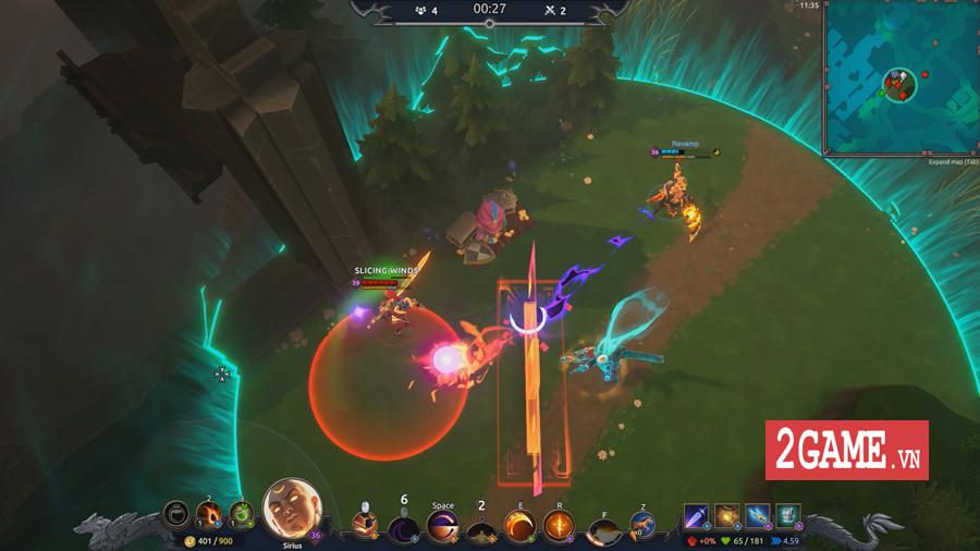 Đánh giá Battlerite Royale: Chất chơi MOBA hòa quyện kiểu Sinh tồn với thao tác tay cực kỳ sướng trên PC 2