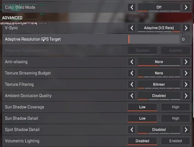 Hướng dẫn chơi Apex Legends: Cách tùy chỉnh cấu hình để đạt FPS mượt nhất 1