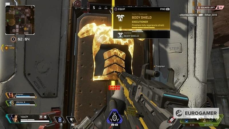 Hướng dẫn chơi Apex Legends: Những điều game thủ cần chú ý về chỉ số máu và giáp 0