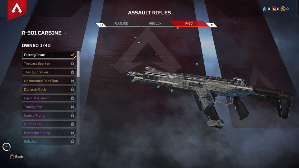 Apex Legends: Điểm mặt 5 mẫu súng được game thủ yêu thích nhất 1