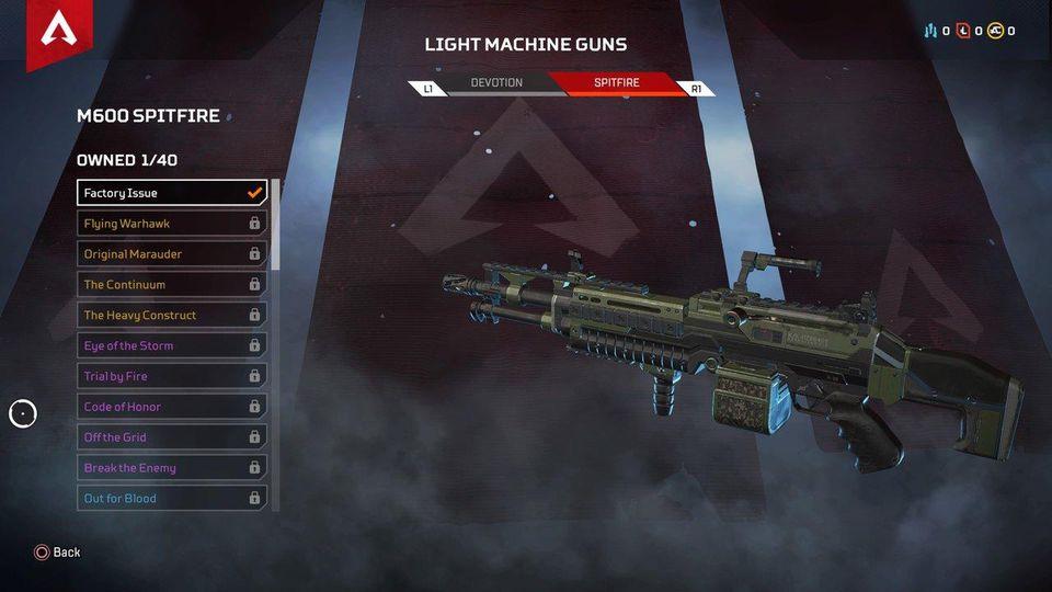 Apex Legends: Điểm mặt 5 mẫu súng được game thủ yêu thích nhất 2