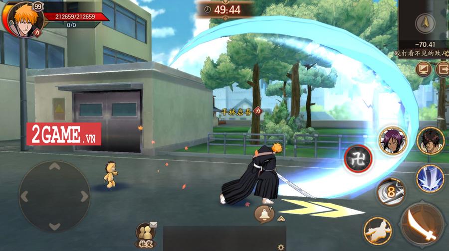 Game hành động bom tấn BLEACH Mobile 3D sắp ra mắt tại thị trường Việt Nam 2