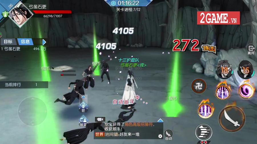 Game hành động bom tấn BLEACH Mobile 3D sắp ra mắt tại thị trường Việt Nam 4