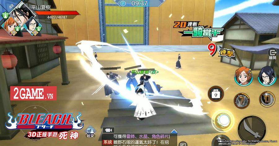 Game hành động bom tấn BLEACH Mobile 3D sắp ra mắt tại thị trường Việt Nam 5