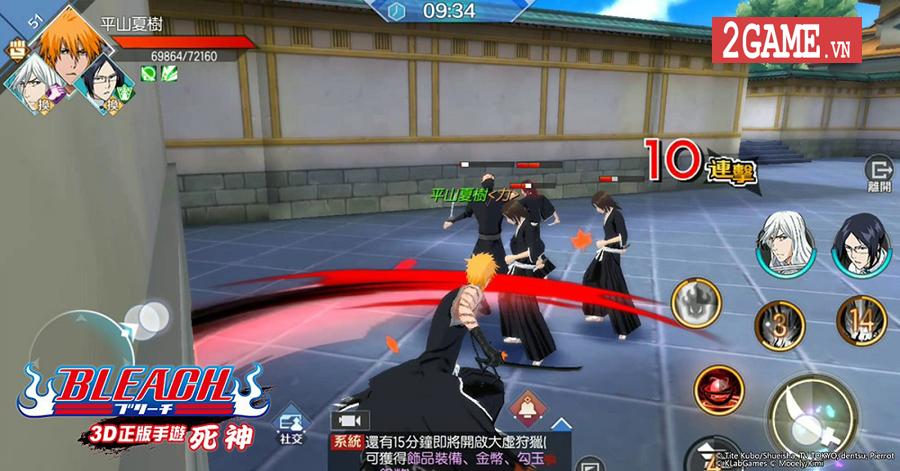 Game hành động bom tấn BLEACH Mobile 3D sắp ra mắt tại thị trường Việt Nam 3