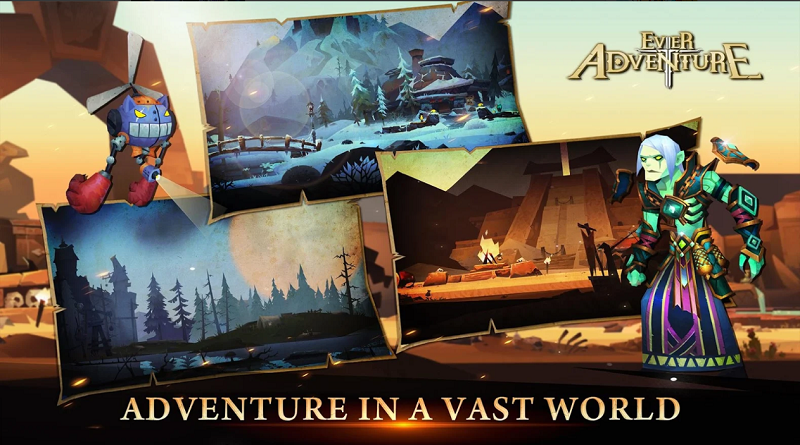 Ever Adventure - Game cuộn cảnh lấy cảm hứng từ thương hiệu MMORPG cổ điển 6