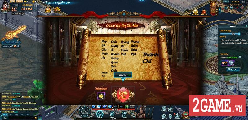 Cảm nhận Webgame Thiên Địa Hội trong ngày đầu khai mở phiên bản Alpha Test 11