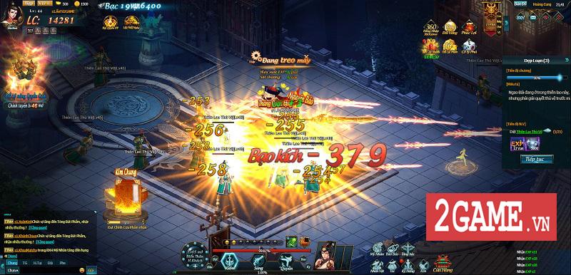 Cảm nhận Webgame Thiên Địa Hội trong ngày đầu khai mở phiên bản Alpha Test 9