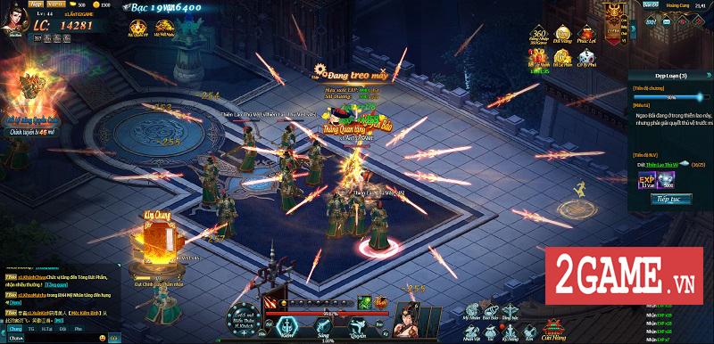 Cảm nhận Webgame Thiên Địa Hội trong ngày đầu khai mở phiên bản Alpha Test 12