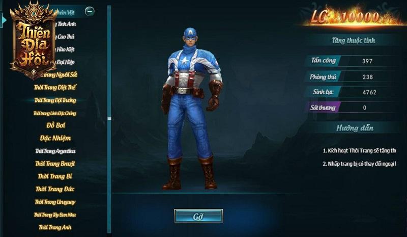 Nhập vai thành những siêu anh hùng Marvel đại chiến ngay tại Webgame Thiên Địa Hội 0
