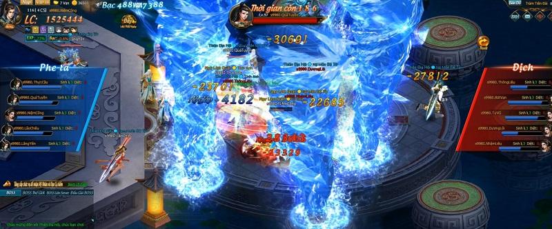 Nhập vai thành những siêu anh hùng Marvel đại chiến ngay tại Webgame Thiên Địa Hội 4