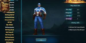 Nhập vai thành những siêu anh hùng Marvel đại chiến ngay tại Webgame Thiên Địa Hội
