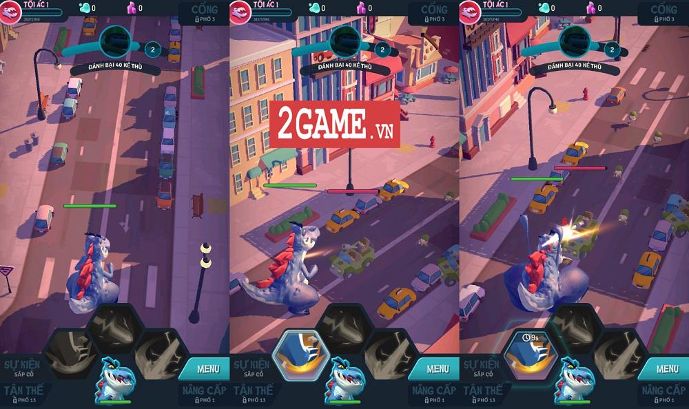 Ta Là Quái Vật: Siêu Tàn Phá - Game 3D chất lượng cao với những hiệu ứng phá hủy siêu đã mắt 2