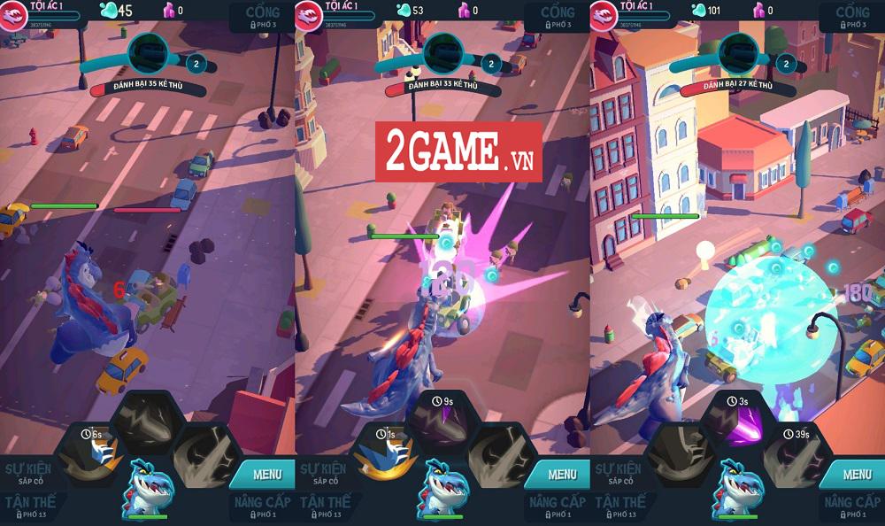 Ta Là Quái Vật: Siêu Tàn Phá - Game 3D chất lượng cao với những hiệu ứng phá hủy siêu đã mắt 3