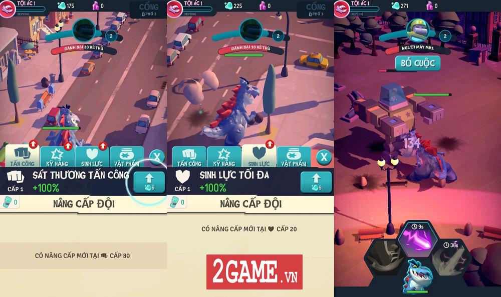 Ta Là Quái Vật: Siêu Tàn Phá - Game 3D chất lượng cao với những hiệu ứng phá hủy siêu đã mắt 4