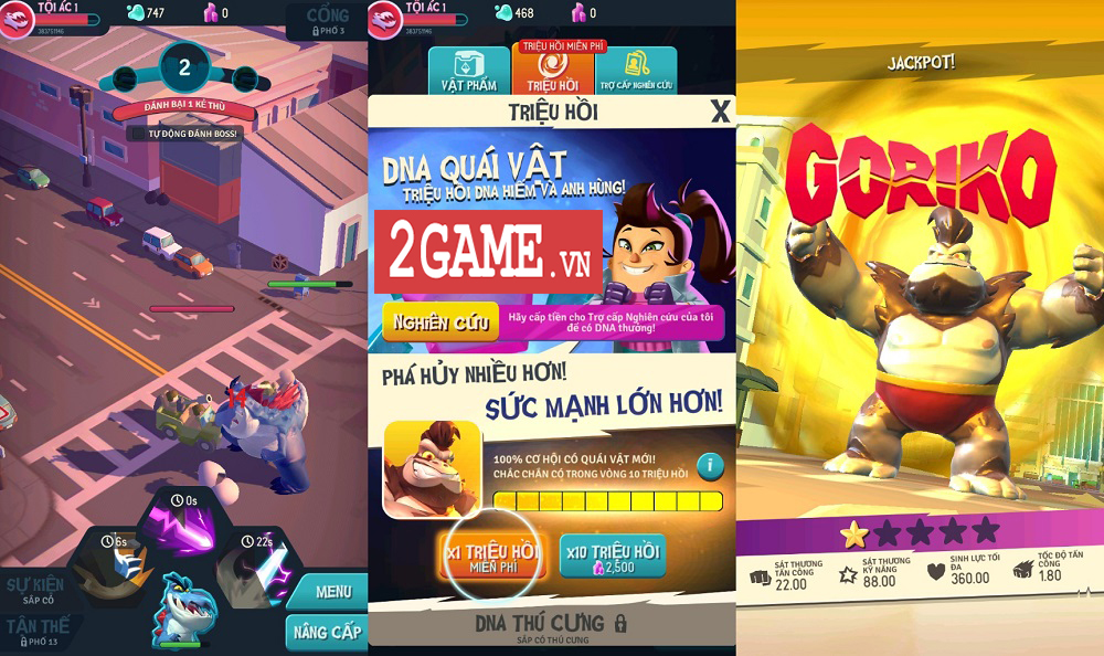 Ta Là Quái Vật: Siêu Tàn Phá - Game 3D chất lượng cao với những hiệu ứng phá hủy siêu đã mắt 6