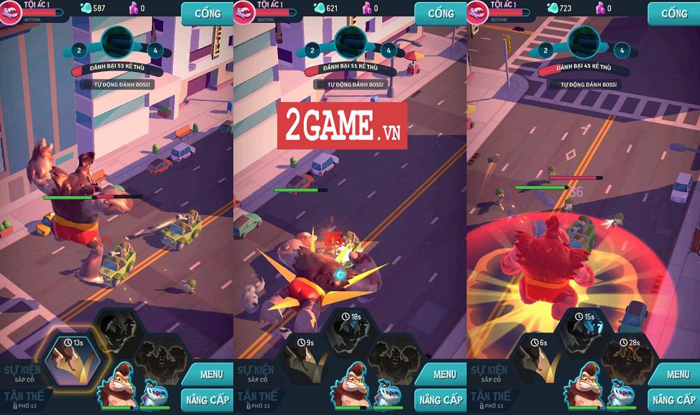 Ta Là Quái Vật: Siêu Tàn Phá - Game 3D chất lượng cao với những hiệu ứng phá hủy siêu đã mắt 7