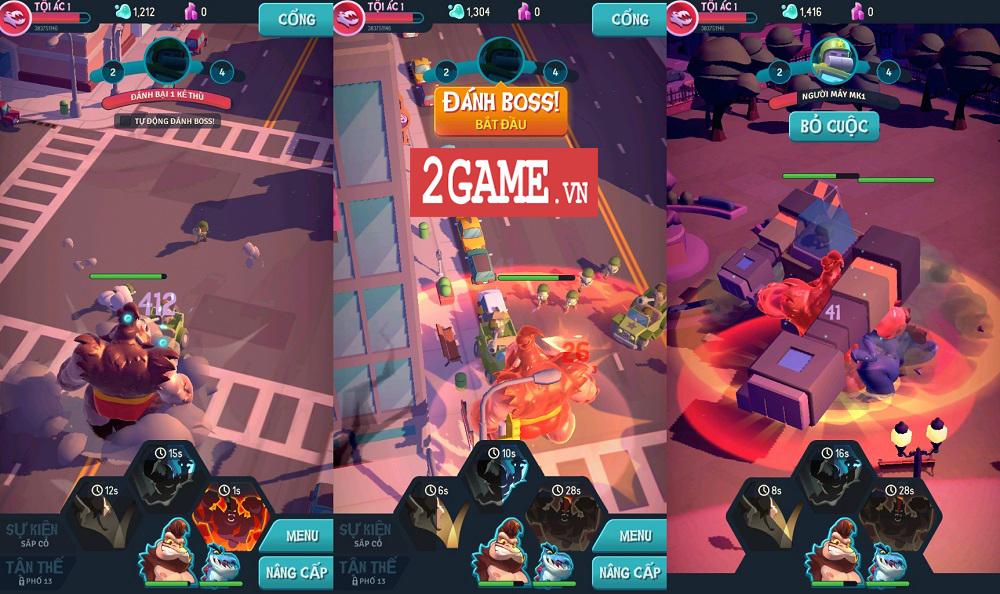 Ta Là Quái Vật: Siêu Tàn Phá - Game 3D chất lượng cao với những hiệu ứng phá hủy siêu đã mắt 1