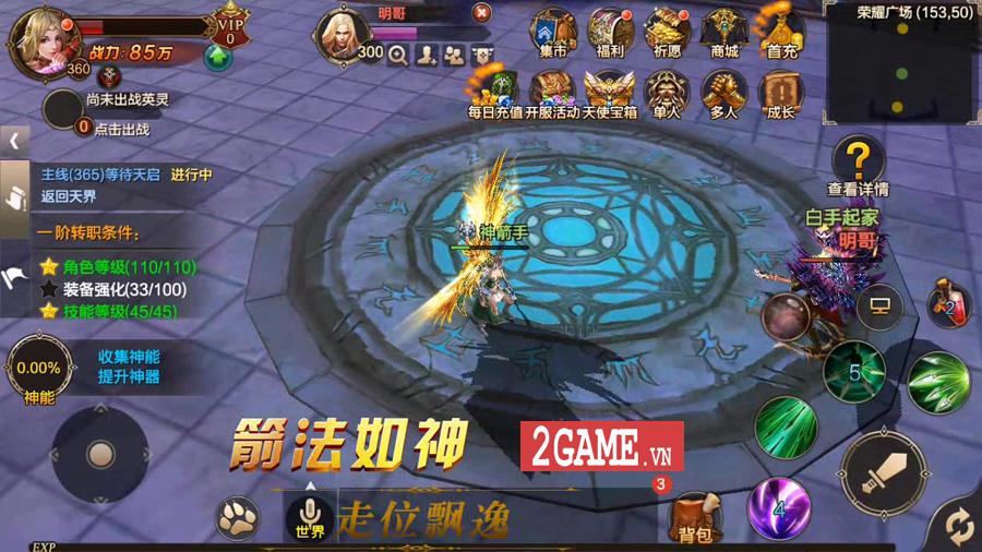 Thánh Chiến 3D - Game nhập vai lột tả cuộc chiến giữa các Thiên sứ cập bến Việt Nam 4
