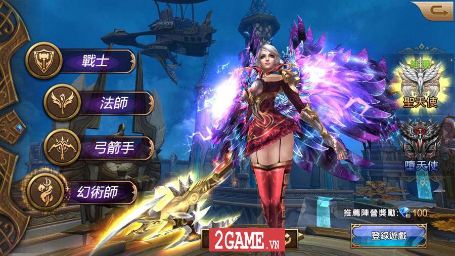Thánh Chiến 3D - Game nhập vai lột tả cuộc chiến giữa các Thiên sứ cập bến Việt Nam 2