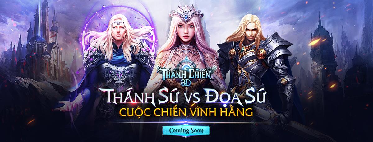 Thánh Chiến 3D - Game nhập vai lột tả cuộc chiến giữa các Thiên sứ cập bến Việt Nam 0