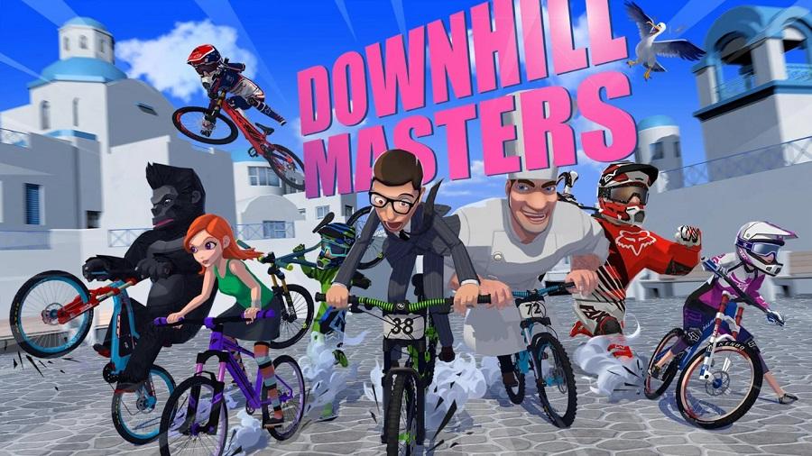 Downhill Masters - Game mobile đua xe đạp có thể chơi mọi lúc mọi nơi 0