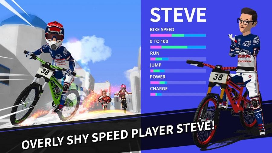 Downhill Masters - Game mobile đua xe đạp có thể chơi mọi lúc mọi nơi 2